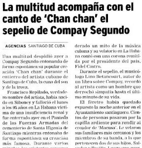 """""""El Correo"""", 16-7-2003."""