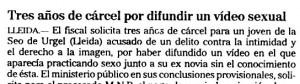 """""""El Mundo"""", 7-9-2001, página 35."""