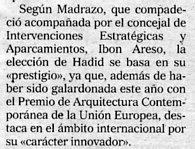 El Mundo del País Vasco, 5-9-2003, página 15.