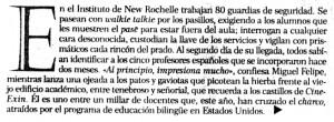 """""""El Correo"""", 5-11-2000, suplemento """"Panorama"""", página 1."""
