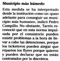 """""""El Mundo / El Día de Baleares"""", 27-7-2000, página 28."""