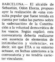 """""""El Mundo"""", 1-3-2001, página 9."""