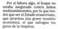 """""""El Mundo"""", 23-1-2001, página 32."""