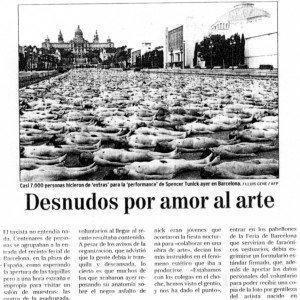 """""""El Mundo"""", 9-6-2003, última página."""