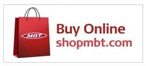 Anuncio de tienda online en la página oficial de MBT.
