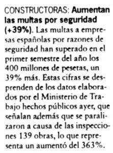 """""""Cinco Días"""", 9-7-1998, página 10."""
