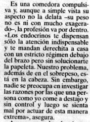 """""""Bilbao"""", junio de 1999, página 18."""