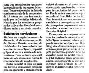 """""""El Correo"""", 18-1-1999, página 67."""