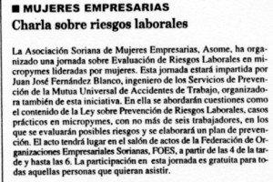 """""""Diario de Soria"""", 11-2-1998, página 8."""