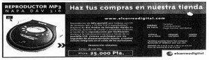 """""""El Correo"""", 21-12-2001, página 101."""