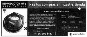 """""""El Correo"""", 21-12-2001, página 66."""