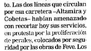 """""""El Correo"""", 31-5-06."""