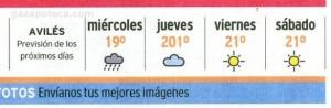 """""""La Voz de Avilés"""", 29-8-07, contraportada."""