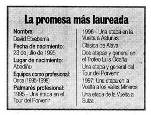 """""""El Correo"""", 25-2-1998."""