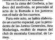 """""""El Mundo del País Vasco"""", 20-6-2005, página 20."""