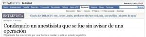 """""""elpais.com"""", 23-9-2010."""