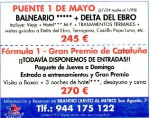 """""""Qué! Bilbao"""", 29-5-2007, página 5."""