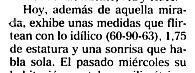"""""""El Mundo"""", 10-3-2002, suplemento """"Crónica"""", página 18."""
