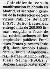 """""""El Mundo"""", 17-11-2000, página 46."""