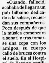 """""""El Mundo del País Vasco"""", 26-4-2001, página 24."""