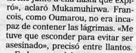 """""""El Mundo"""", 3-9-2001, página 27."""
