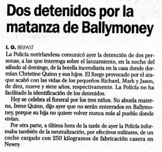 """""""El Correo"""", 14-7-1998, página 24."""