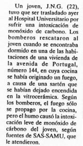 La Gaceta de Salamanca, 10-2-2001, página 53.