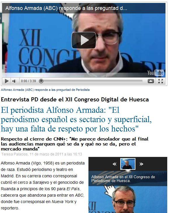 Periodista Digital, 11-3-2011.