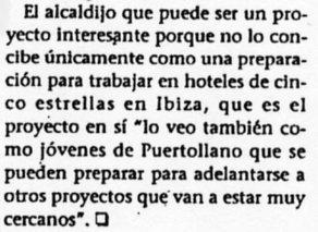 """""""Lanza"""", 14-11-2001, página 19."""