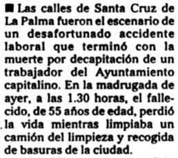 """""""Canarias7"""", 3-9-2000, página 78."""