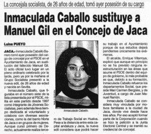 """""""Diario del AltoAragón"""", 1-3-2001, página 13."""