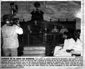 """""""El Mundo de Castilla y León"""", 4-8-1998, página 9."""