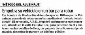 """""""El Correo"""", 23-9-2003, página 4."""