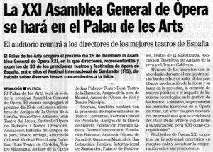 """""""Las Provincias"""", 10-12-2006, página 66."""