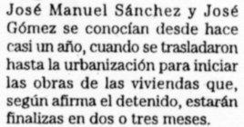 """""""La Verdad"""", de Murcia, 26-2-2000, página 16."""