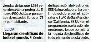 """""""20 minutos"""" Bilbao, 30-7-10, página 2."""