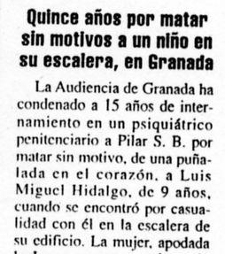 """""""La Nueva España"""", 28-3-2001, página 38."""