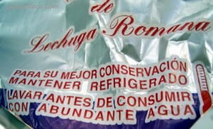 """Lechuga romana de """"Cogollos Lucas""""."""